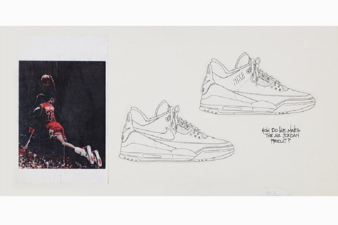 Air Jordan 3 Tinker Sketch
