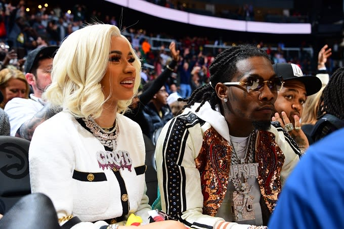 Cardi B Trashes People Who Say She Married Offset For Publicity