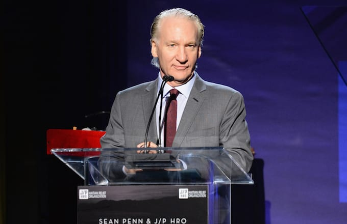 Bill Maher in California