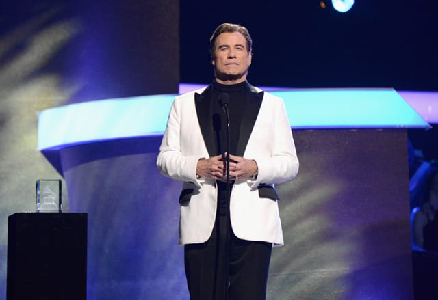 John Travolta at 2017 GRAMMYs