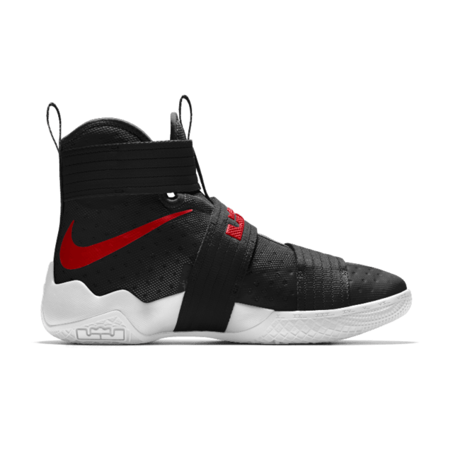 the latest 52825 b288a Nike Lebron Soldier 10
