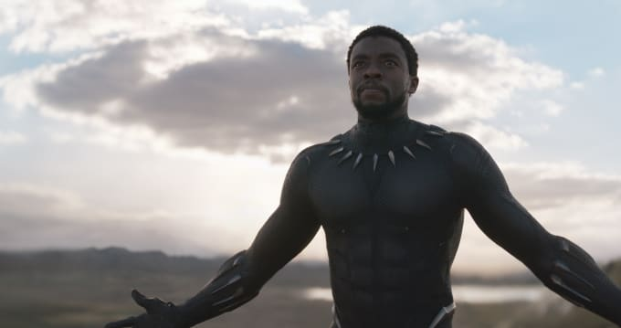 Chadwick Boseman in 'Black Panther'
