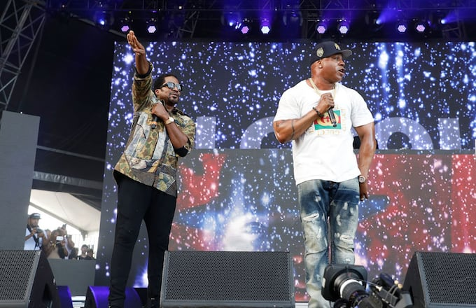Q Tip and LL Cool J at the Meadows Festival 2017