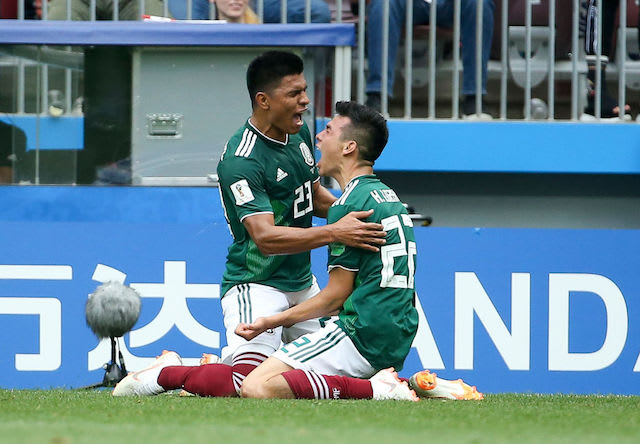 This is a picture of two Mexico players.