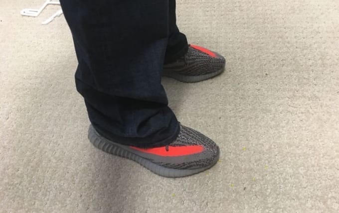 Yeezy Boosts With Baggy Jeans