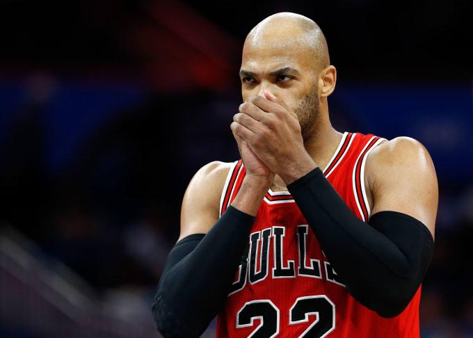 Taj Gibson Chicago Bulls 2016