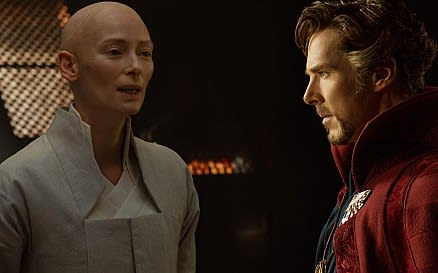 A photo from the Doctor Strange trailer.