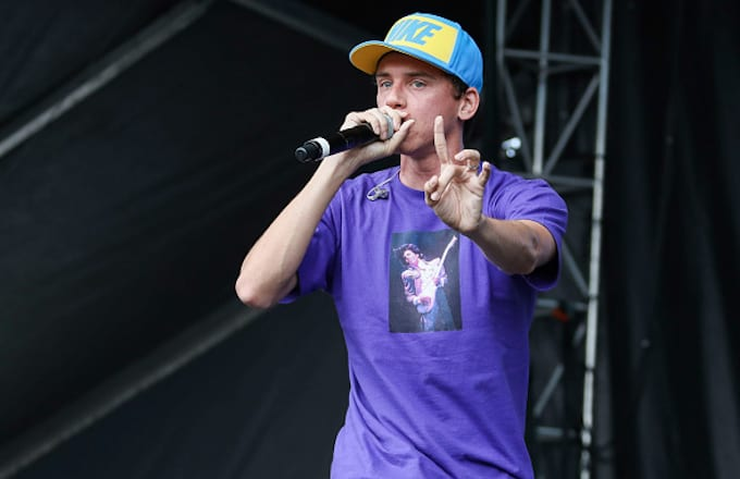 Logic performs during Music Midtown 2016