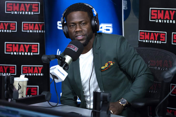 Kevin Hart at SiriusXM