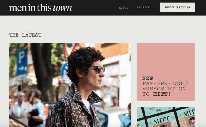 Best Mens Style Blogs Right Now Men In