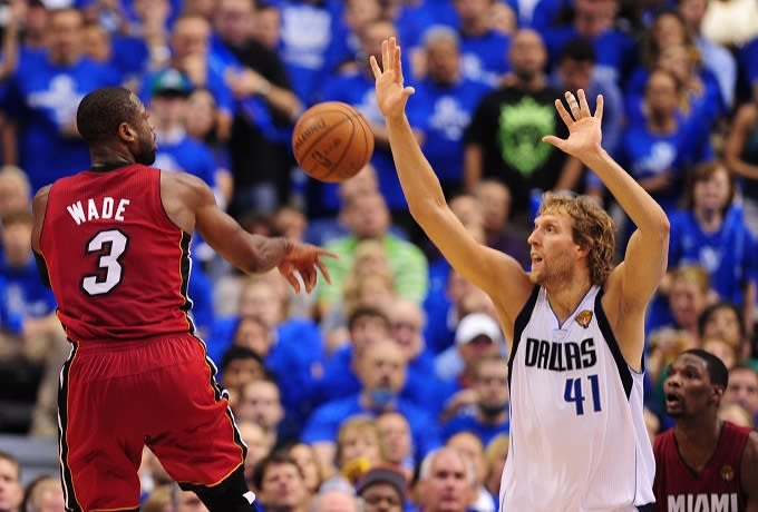2492ff029e13 Dwyane Wade and Dirk Nowitzki Added to All-Star Game