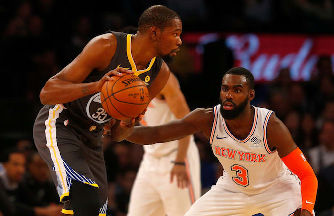 f9ab4cdce85d Knicks Reportedly Have a Great Shot at Signing Kevin Durant