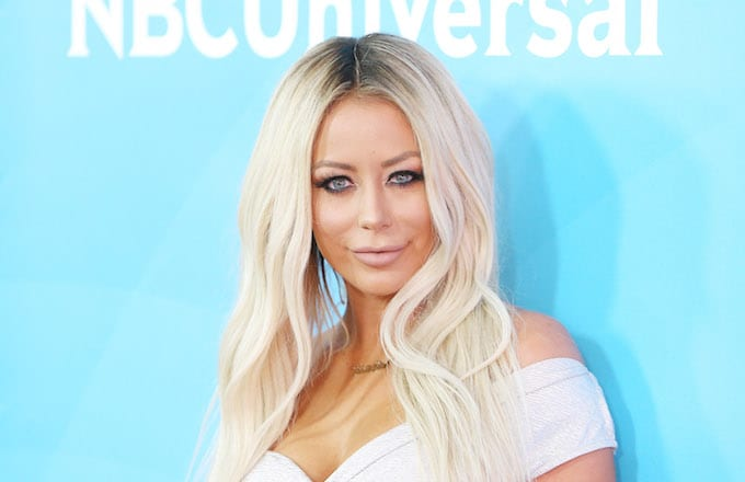 Aubrey O'Day attends the 2016 NBCUniversal Summer press day.