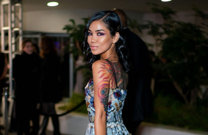 Jhene Aiko big sean tat