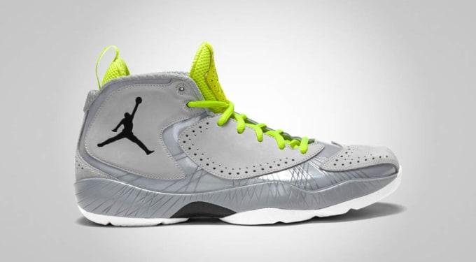 Air Jordan 2012 'Wolf Grey/Volt'