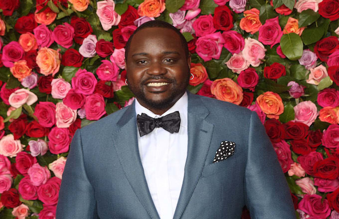 Brian Tyree Henry at the 2019 Tony Awards.