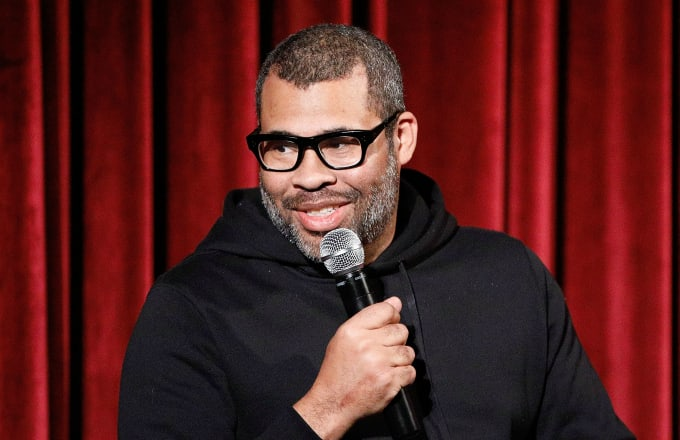 Director Jordan Peele on stage during The Academy of Motion Picture Arts and Sciences