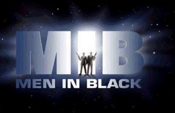 Men in Black logo.