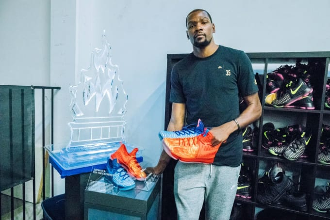 Nike KD 9 Fire & Ice Kevin Durant