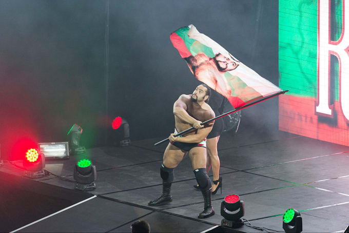 Rusev WWE Germany 2016 Getty