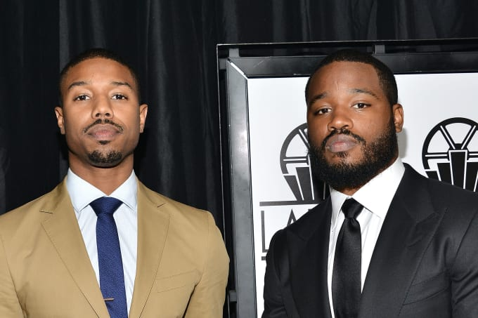 Michael B. Jordan and Ryan Coogler at the 40th Annual Los Angeles Film Critics Association Awards