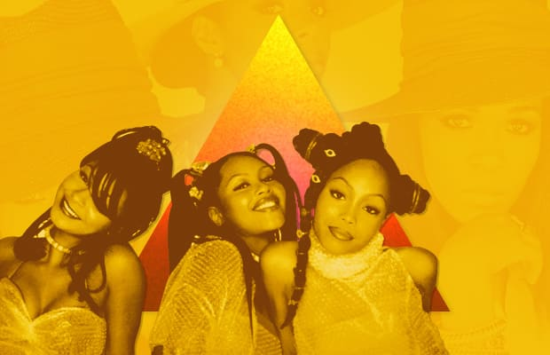 The '90s Female R&B Group Pyramid of Excellence