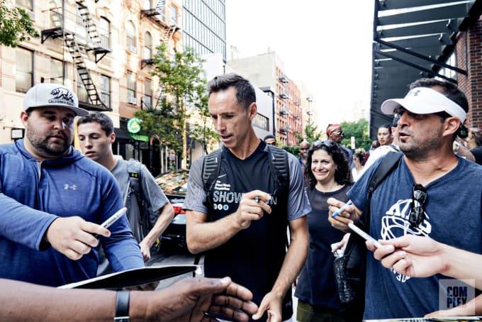 Steve Nash LES Walk Steve Nash Soccer 2017