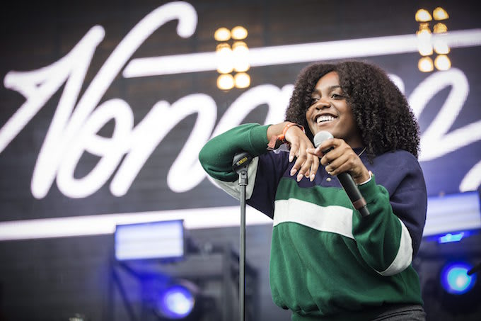 Noname performing in Denmark