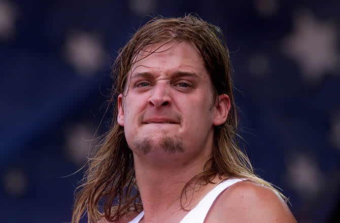 This is a photo of Kid Rock.