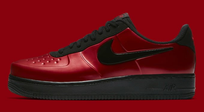 79ff9d24ac7af Nike Air Force 1 Foamposite Pro Cup  Gym Red