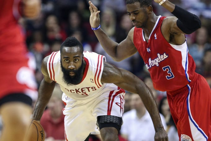 a0f01a7a7ecb Why Chris Paul and James Harden Might Be a Problem for Golden State ...