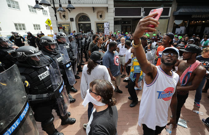 United the Right rally August 12, 2017 in Charlottesville, Virginia