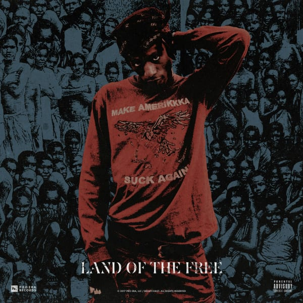 Cover Joey Badass - Land Of The Free