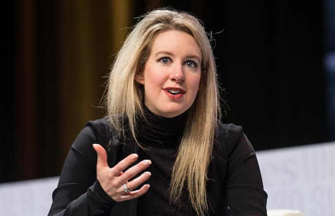 Theranos Elizabeth Holmes attends the Forbes Under 30 Summit.