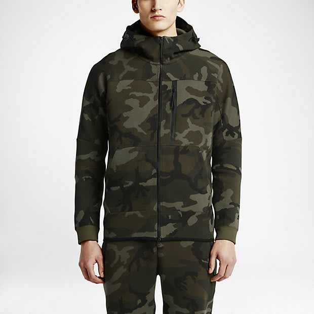 NikeLab Tech Fleece Camo Collection  e996dfdb0b0a