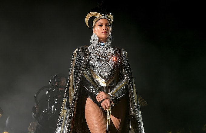 Beyonce Knowles performs onstage during 2018 Coachella.