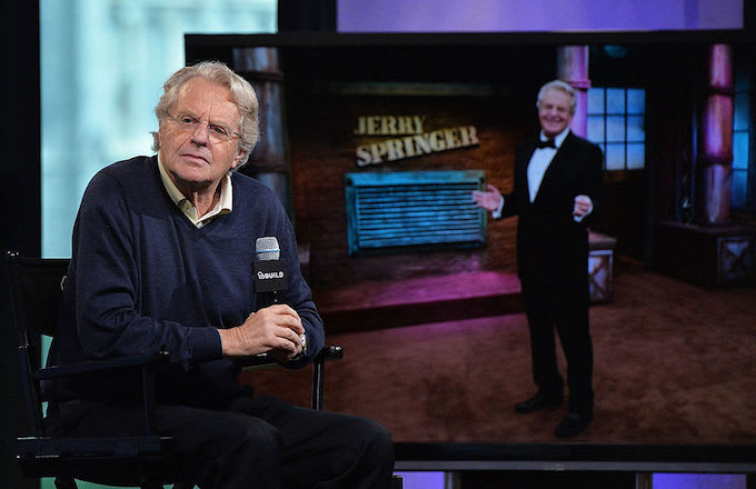 Jerry Springer new judge show