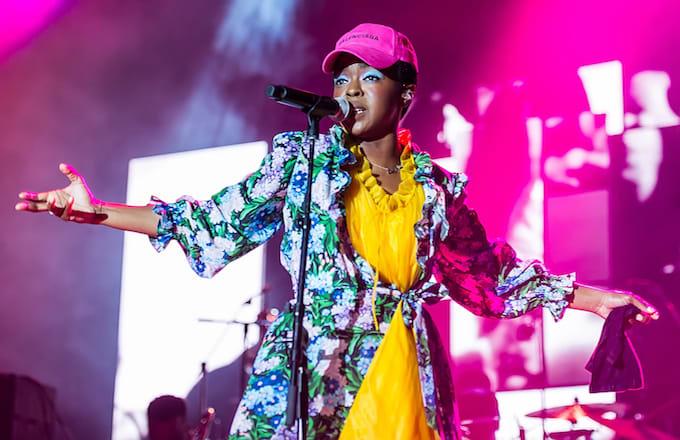 Singer, songwriter, Ms. Lauryn Hill.