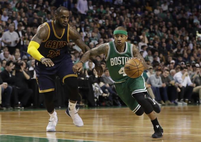 LeBron James Isaiah Thomas Celtics Cavs 2017