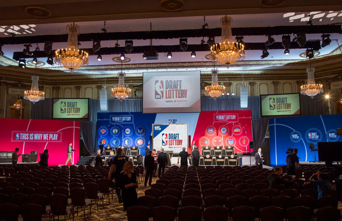 The site of the 2018 NBA Draft Lottery.