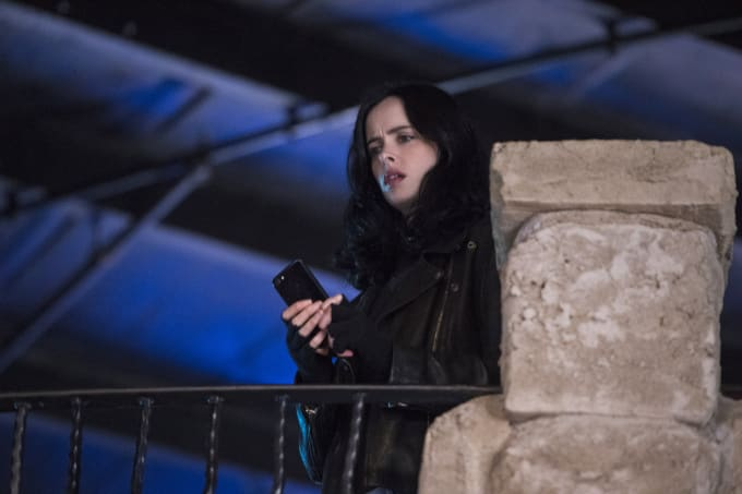 Krysten Ritter as Jessica Jones in season 2 of 'Marvel's Jessica Jones'