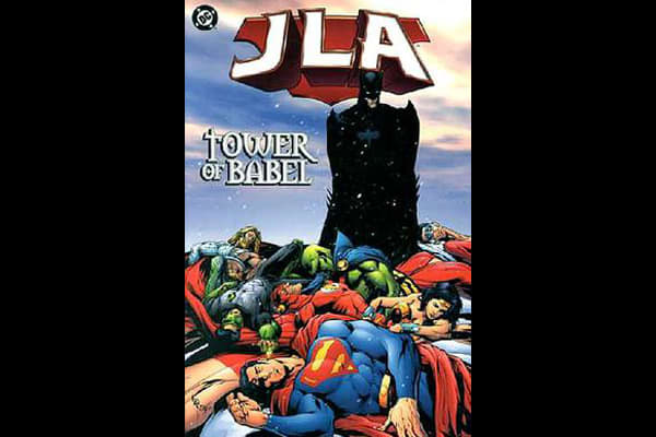 best dc comics jla tower babel
