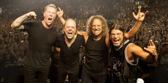 Metallica pop-up in Toronto