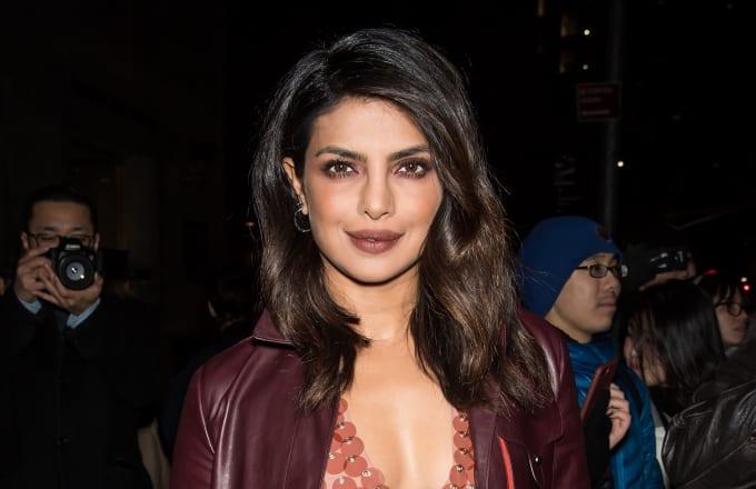This is a photo of TV actress Priyanka Chopra.