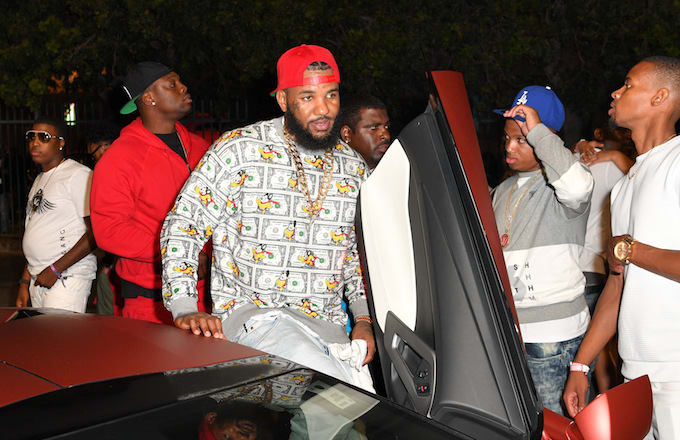 The Game spotted on Hollywood Blvd