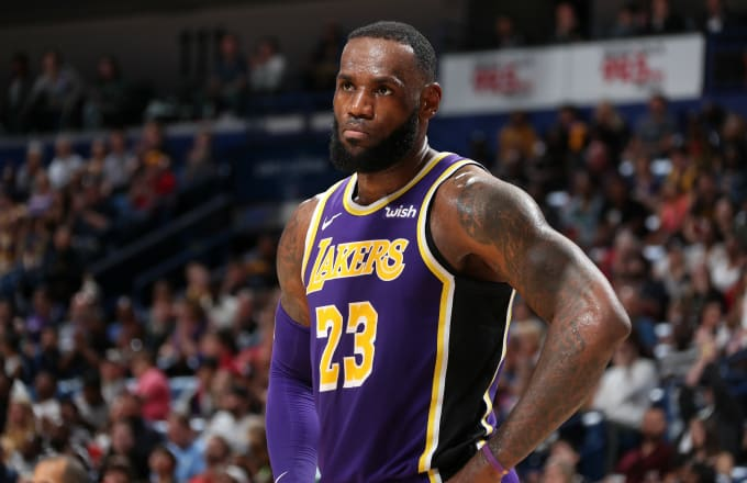 7dbcd45b897 League Sources Blame LeBron James for Hurting Lakers  Chemistry ...