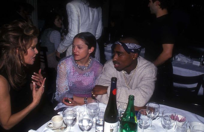 Raquel Welch, Madonna and Tupac Shakur