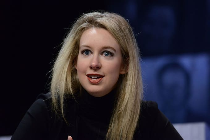 Elizabeth Holmes speaks at Forbes Under 30 Summit