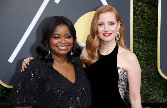 Octavia Spencer Jessica Chastain