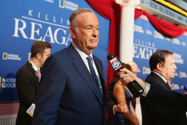 Bill O'Reilly at 'Killing Reagan' Washington, DC Premiere